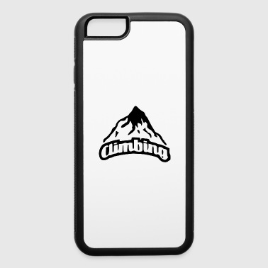time to climb - iPhone 6/6s Rubber Case