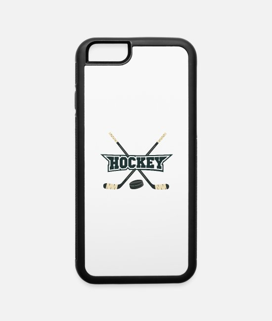 Field iPhone Cases - Hockey - iPhone 6 Case white/black