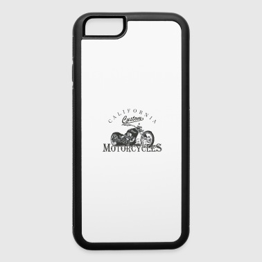 Moped Motorcycle Chopper Biker Rocker Dirt Bike - iPhone 6/6s Rubber Case