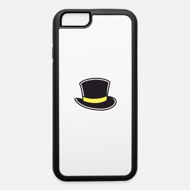 Formal a black and gold top hat - iPhone 6 Case