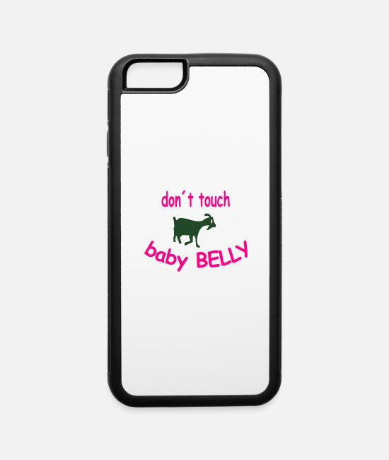 Pregnancy iPhone Cases - pregnancy - iPhone 6 Case white/black
