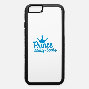 PRINCE bossy boots with royal crown - iPhone 6 Case