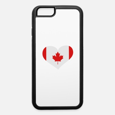 Quebec Canada Heart; Love Canada - iPhone 6 Case