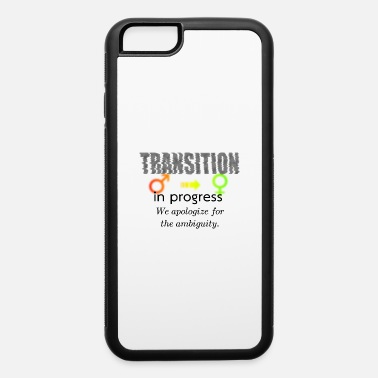 Female M2F Transition in progress #1, light bg - iPhone 6 Case