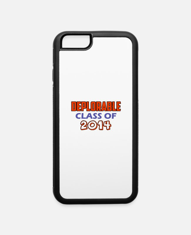 Republicans iPhone Cases - class of 2014 - iPhone 6 Case white/black