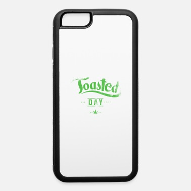 Hemp Leaf Toasted cannabis hemp leaf - iPhone 6/6s Rubber Case