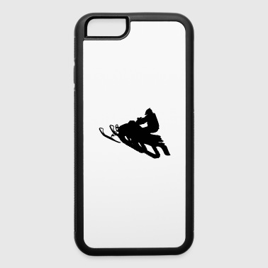 Snowmobile Winter Sports Snow - iPhone 6/6s Rubber Case