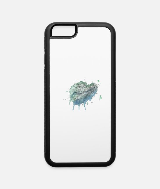 Dinosaurs iPhone Cases - Crocodile - iPhone 6 Case white/black