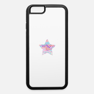 Wordcloud Abigail wordcloud star gift for Abigail - iPhone 6 Case
