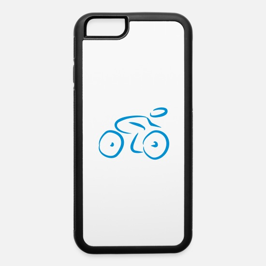 Cycle iPhone Cases - cycling - iPhone 6 Case white/black