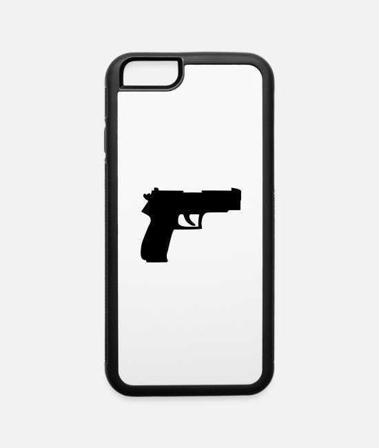 Criminal iPhone Cases - waffe__f1 - iPhone 6 Case white/black