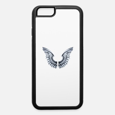 Wings Angel silver-angel-wings - iPhone 6 Case