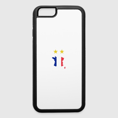 Champion France Soccer World Cup - iPhone 6/6s Rubber Case