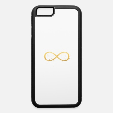 Sign infinity sign gold symbol sign love - iPhone 6 Case