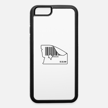 Price Tag Old dollar price tag with barcode - iPhone 6 Case