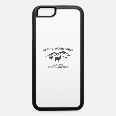 South Andes Mountains Llamas South America - iPhone 6 Case