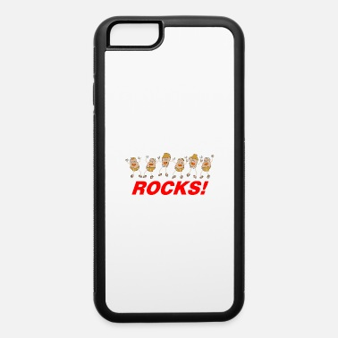 Back To School Civics Rocks White Text - iPhone 6 Case
