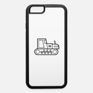 Bulldozer Bulldozer Doodle paint Drawing boys Gift idea - iPhone 6 Case