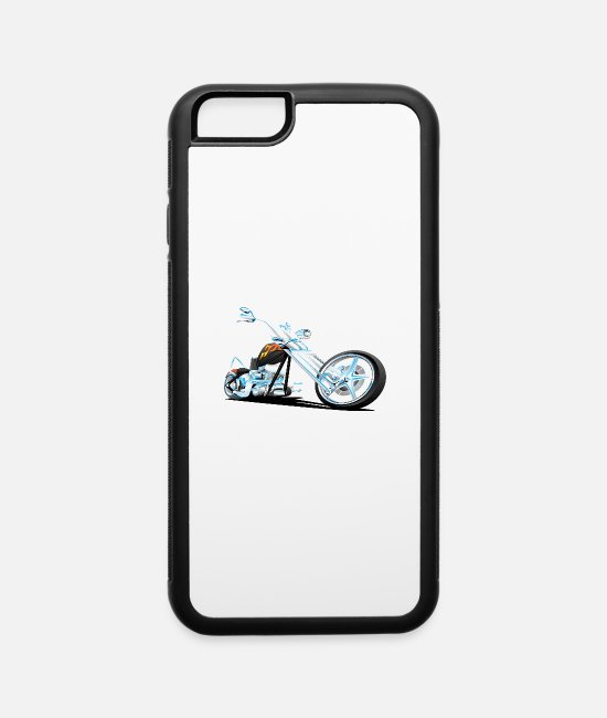 Motorcycle iPhone Cases - gost RIDER - iPhone 6 Case white/black