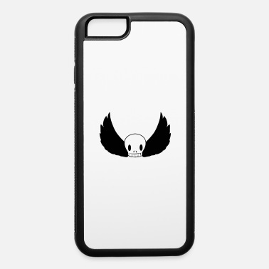 skull with wings - iPhone 6 Case