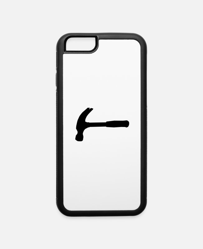Site iPhone Cases - Hammer - iPhone 6 Case white/black