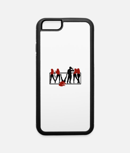 MVPN iPhone Cases - mvPn THEBRAND bandana - iPhone 6 Case white/black