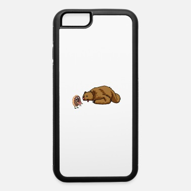 Fantasy BEAR HUNGY DONUT FANTASY KIDS GEEK - iPhone 6/6s Rubber Case