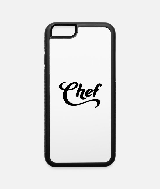 Cuisine iPhone Cases - Chef - iPhone 6 Case white/black