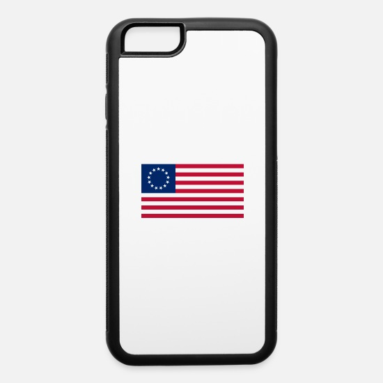 Ross iPhone Cases - betsy ross png - iPhone 6 Case white/black
