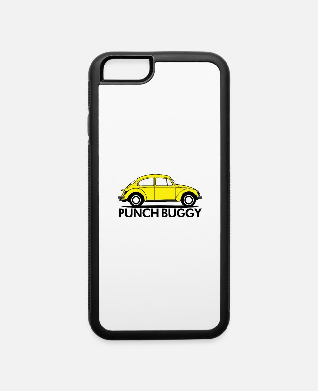 Punch iPhone Cases - Punch Buggy - iPhone 6 Case white/black