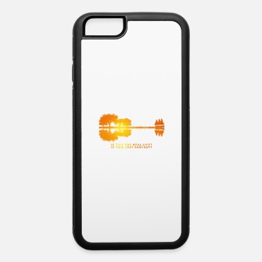 Is This Real Sunset Guitar - iPhone 6 Case