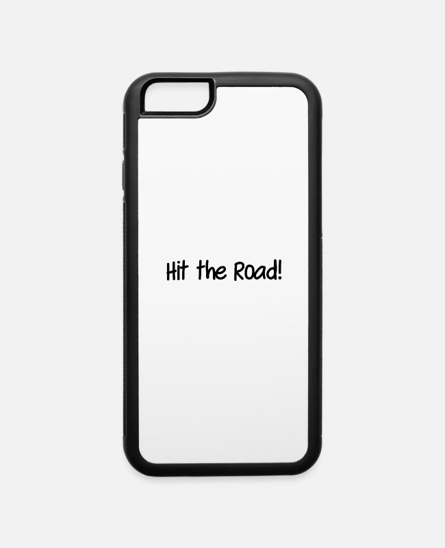 Drinkware iPhone Cases - Hit the road - iPhone 6 Case white/black