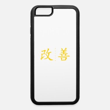 Gold KaiZen (Change for Better, horizontal) - iPhone 6 Case