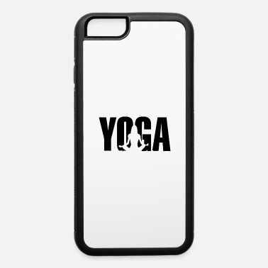 Ornament yoga sitting - iPhone 6/6s Rubber Case
