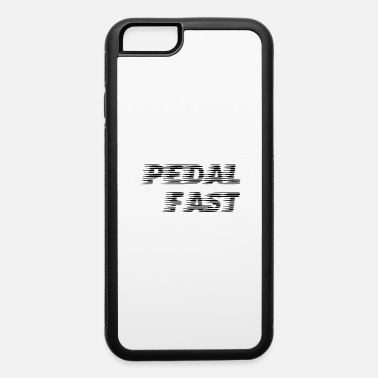 Mountains pedal fast - iPhone 6/6s Rubber Case
