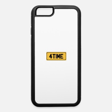 Snatch For Time Licence Plate - iPhone 6 Case