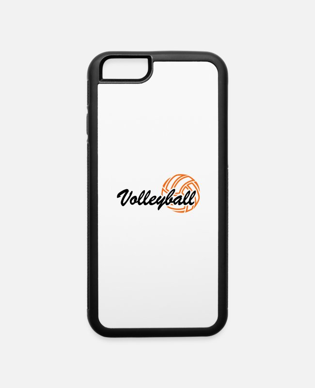 Beach Volleyball iPhone Cases - Volleyball - iPhone 6 Case white/black