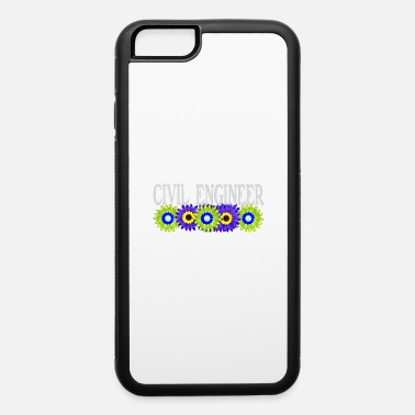 Civil Engineering Technician Civil Engineer Asters - iPhone 6/6s Rubber Case