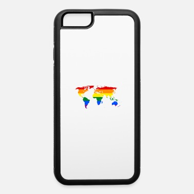 Rainbow Worldmap - iPhone 6/6s Rubber Case