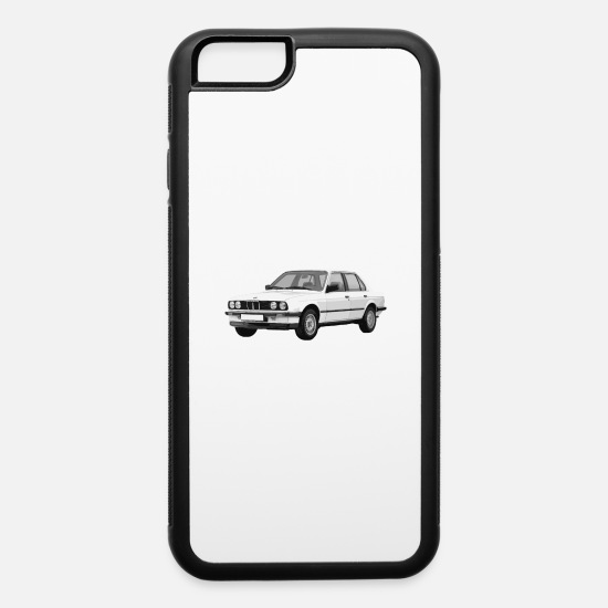 Munich iPhone Cases - E30 Retro - iPhone 6 Case white/black
