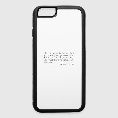 Jesus quotes - iPhone 6/6s Rubber Case