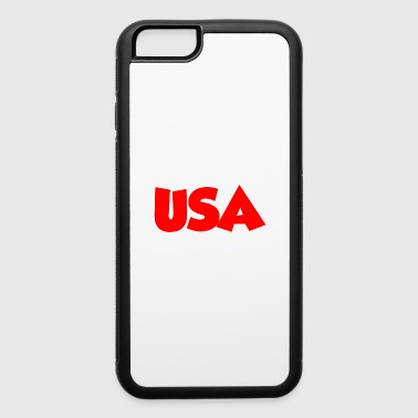 Schland USA RED - iPhone 6/6s Rubber Case