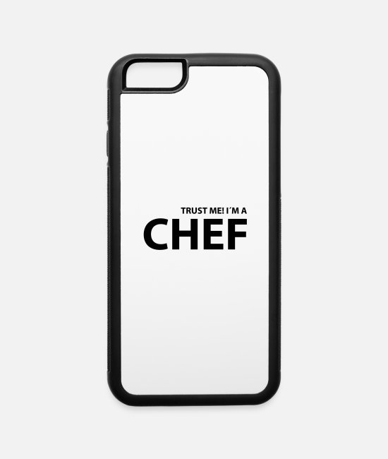 Grillmaster iPhone Cases - chef - iPhone 6 Case white/black
