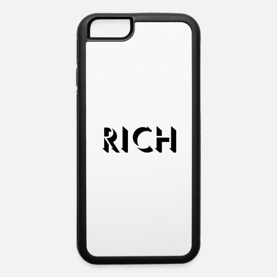 Bank iPhone Cases - Rich - iPhone 6 Case white/black