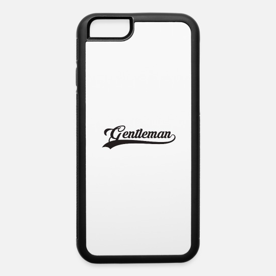 Birthday iPhone Cases - Gentleman - iPhone 6 Case white/black