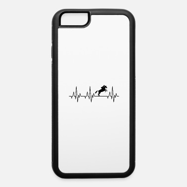 Equitation Heartbeat Horses Riding Harness Racing Equitation - iPhone 6/6s Rubber Case