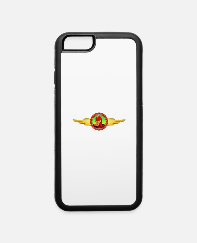 Jingle iPhone Cases - Turbo Man - iPhone 6 Case white/black