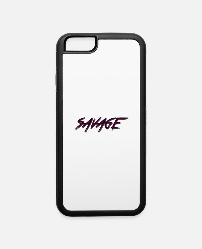 Christmas iPhone Cases - SAVAGE Red case, iphone, samsung, cups - iPhone 6 Case white/black