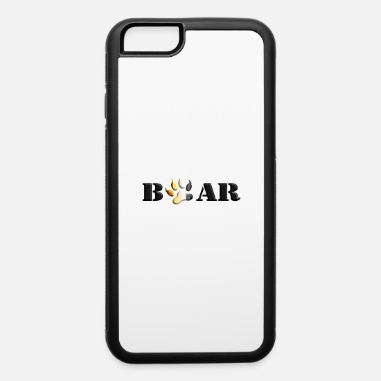 Love iPhone Cases - Bear Paw Gay Pride Fetish LGBT - iPhone 6 Case white/black