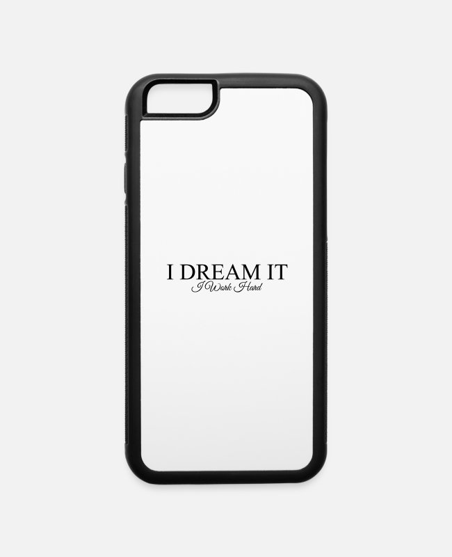 Lemonade iPhone Cases - dreamit - iPhone 6 Case white/black